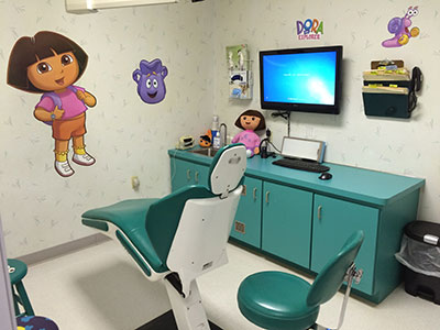 Dora Exam Room - Pediatric Dentist in Harrisburg, PA