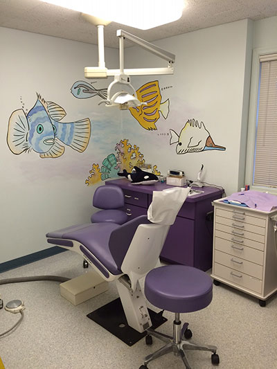 Exam Chair - Pediatric Dentist in Mechanicsburg, PA