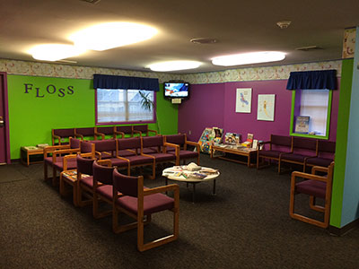 Waiting Area - Pediatric Dentist in Mechanicsburg, PA